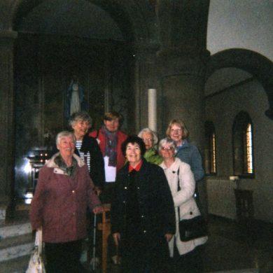 St Simon's group visit St Mirin's